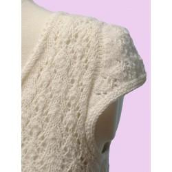 Indiecita DK Luxurious Baby Alpaca Yarn White 100 www.wollefein.ch