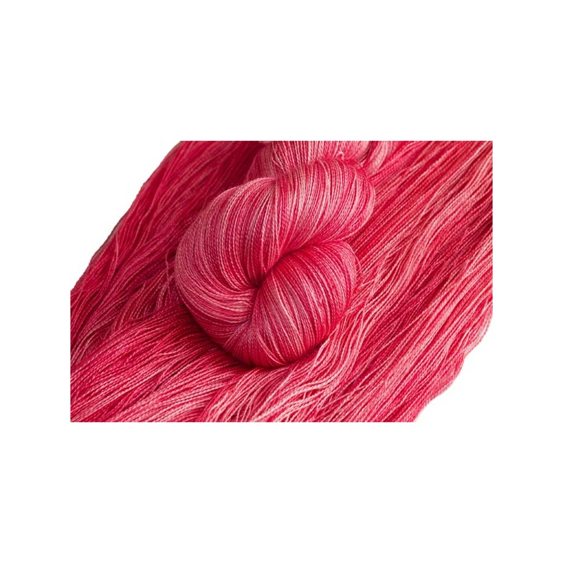 Silk Alpaca Royal Lace Yarn Coral www.wollefein.ch