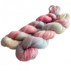 Silk Alpaca Royal Lace Yarn Rose www.wollefein.ch
