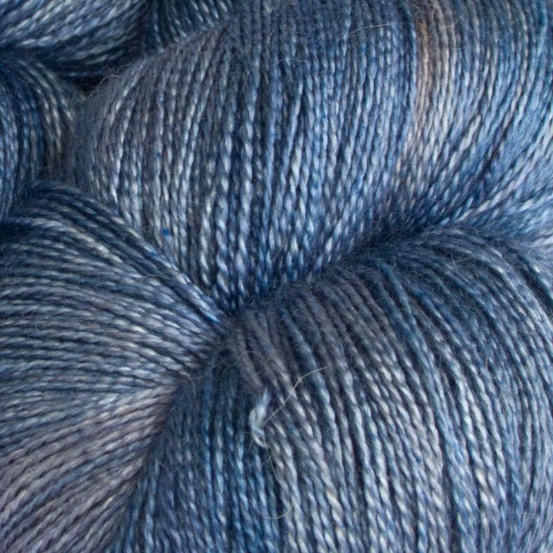 Silk Merino Fine Turquoise Light yarn www.wollefein.ch