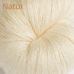 Silk Alpaca Royal Lace Yarn Natur Natural White www.wollefein.ch