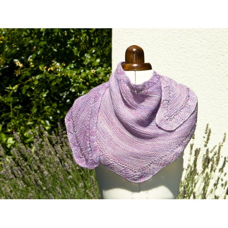 Lace Shawl Champagne GER